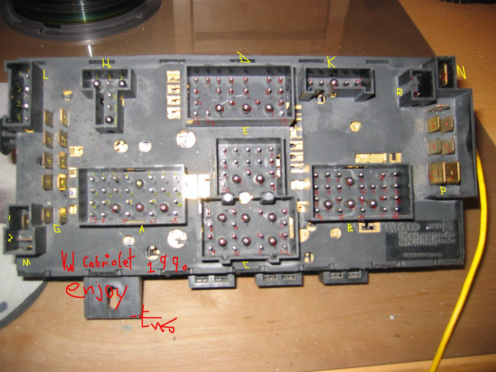 ensone panel vw ce1 fuse box vw on a 2001 vw fuse box \u2022 wiring diagrams j  at n-0.co